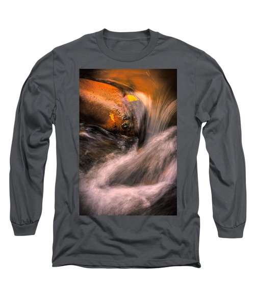 River Flow, Zion National Park Long Sleeve T-Shirt