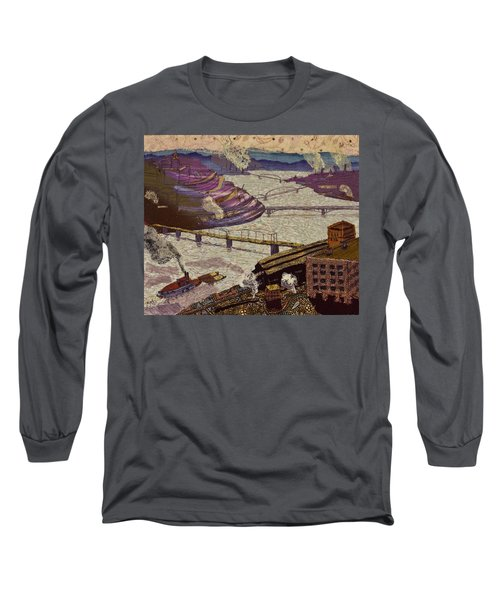 River Of Industry Long Sleeve T-Shirt