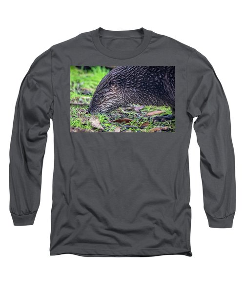 River Otter Astray  Long Sleeve T-Shirt