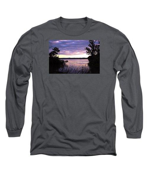 River Sunrise Long Sleeve T-Shirt