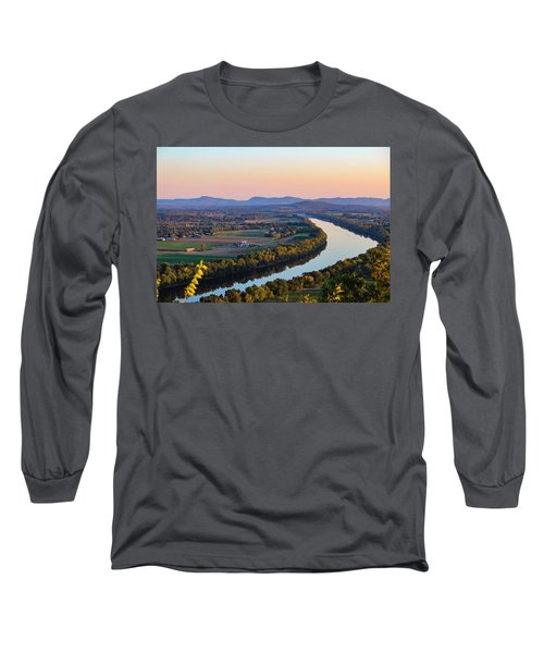 Connecticut River View  Long Sleeve T-Shirt
