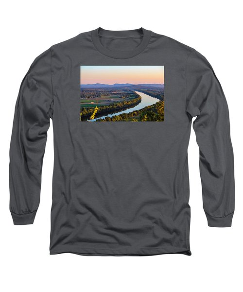 Connecticut River View  Long Sleeve T-Shirt