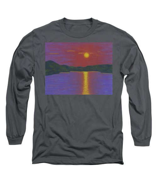 Riverboat Sunset Long Sleeve T-Shirt