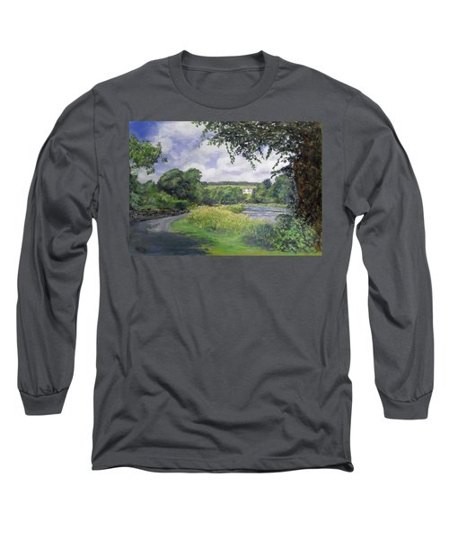 Riverside House And The Cauld Long Sleeve T-Shirt