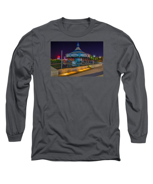 Riverwalk Carousel  Long Sleeve T-Shirt