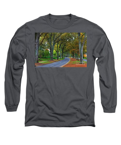 Road In Charlotte Long Sleeve T-Shirt