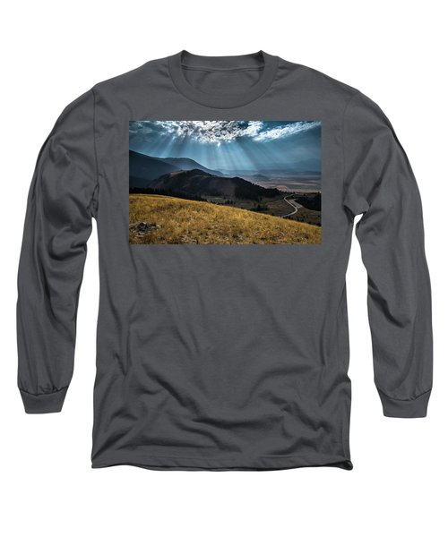 Road To Curtis Canyon Long Sleeve T-Shirt