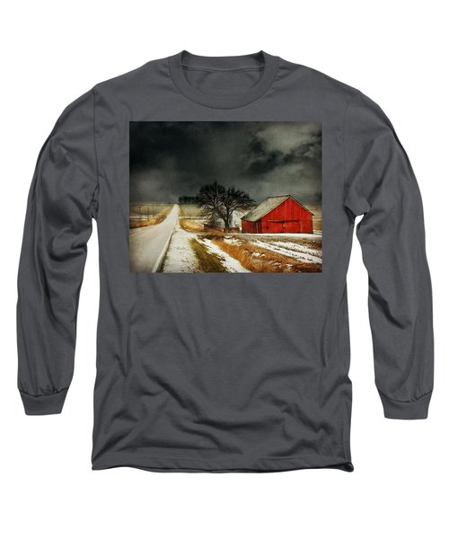 Road To Nowhere Long Sleeve T-Shirt by Julie Hamilton