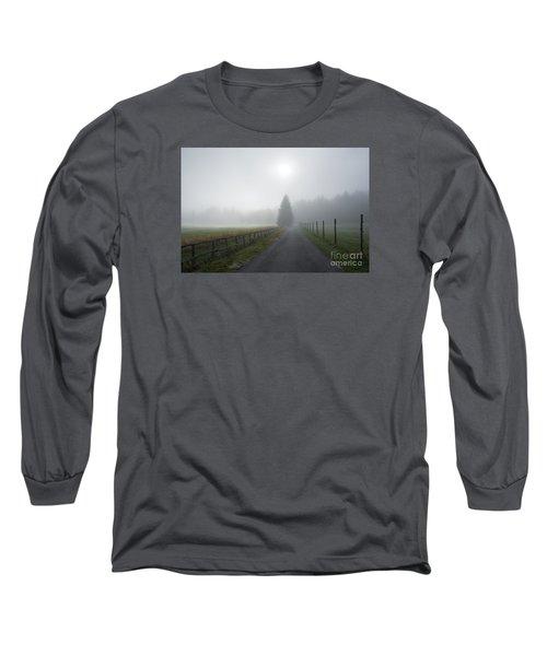 Road To Nowhere Long Sleeve T-Shirt by Yuri Santin