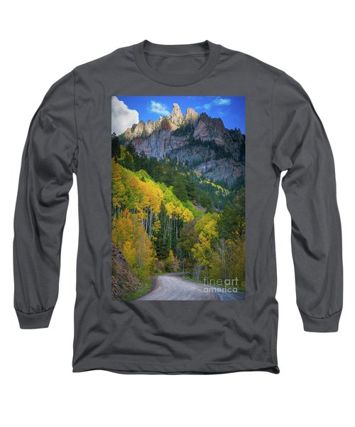 Road To Silver Mountain Long Sleeve T-Shirt