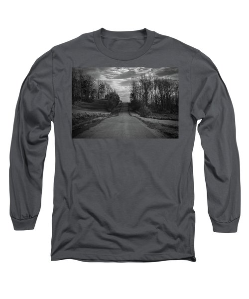 Road To Success Long Sleeve T-Shirt by Stefanie Silva