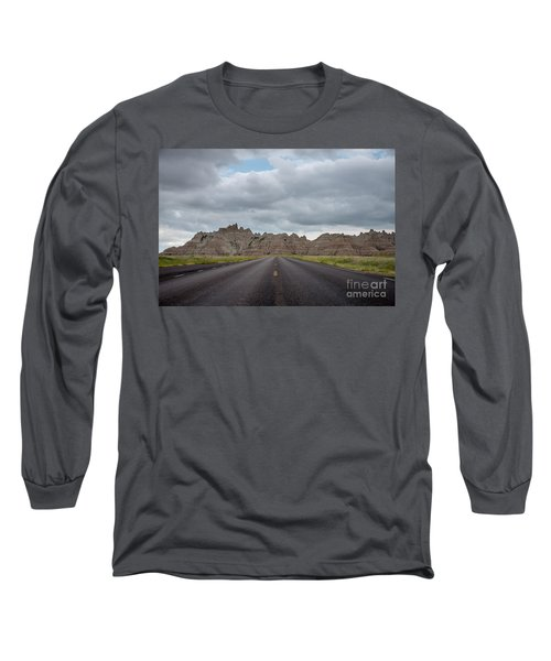 Road To The Badlands  Long Sleeve T-Shirt