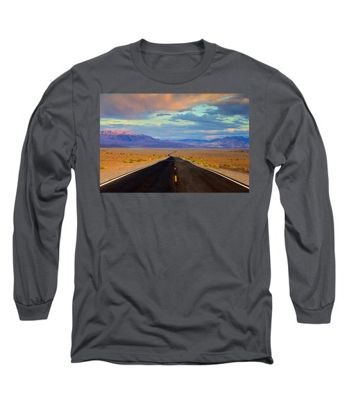 Long Sleeve T-Shirt featuring the photograph Road To The Dreams by Evgeny Vasenev