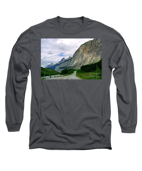 Road Trip  Long Sleeve T-Shirt by Elfriede Fulda