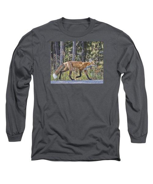 Road Weary Long Sleeve T-Shirt by Elizabeth Eldridge