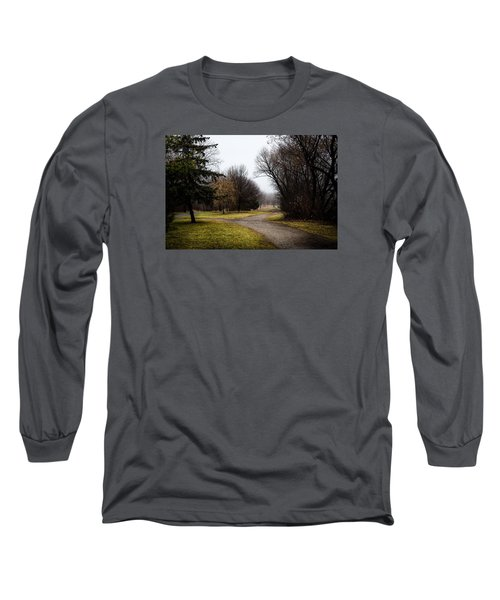 Roads To Nowhere Long Sleeve T-Shirt by Celso Bressan