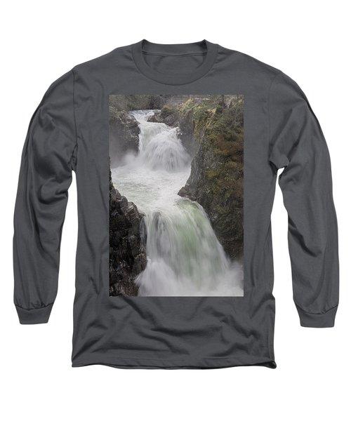 Roaring River Long Sleeve T-Shirt by Randy Hall