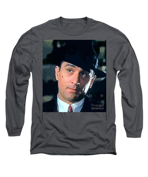 Robert De Niro Long Sleeve T-Shirt