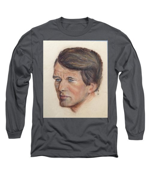 Robert Kennedy Long Sleeve T-Shirt by Anthony Ross