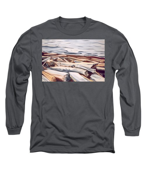 Roberts Creek, Sunshine Coast, B.c. Long Sleeve T-Shirt