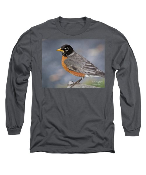 Robin Long Sleeve T-Shirt by Douglas Stucky