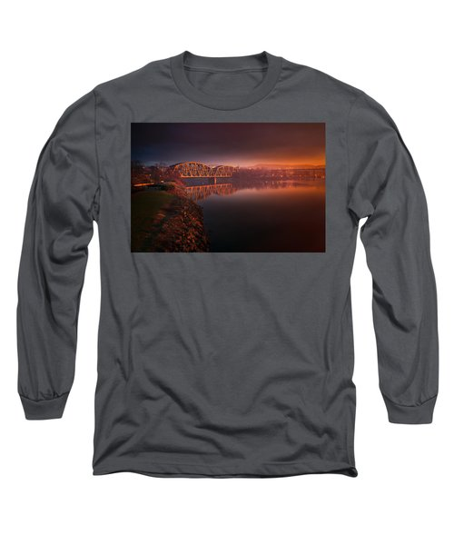 Rochester Train Bridge  Long Sleeve T-Shirt