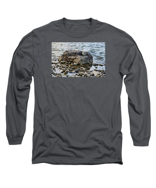Long Sleeve T-Shirt featuring the photograph Rock And Roll by Deborah Smolinske