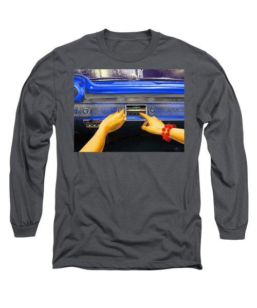 Rock N Roll Radio Long Sleeve T-Shirt