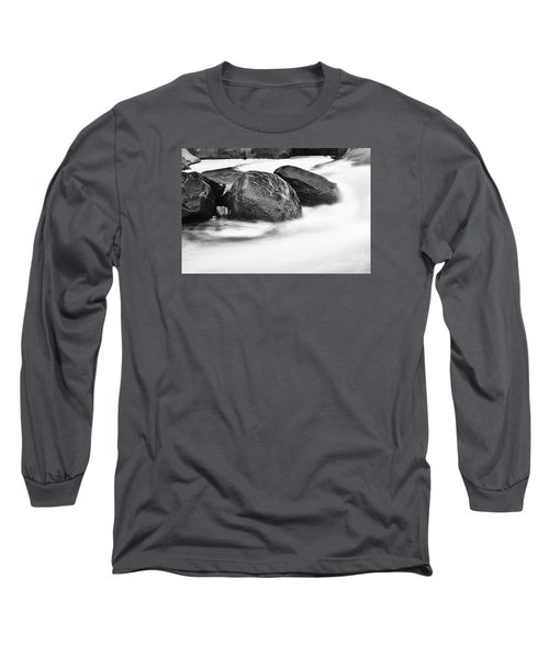 Long Sleeve T-Shirt featuring the photograph Rock Solid by Larry Ricker