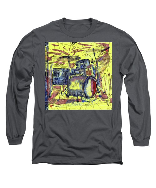 Rockin Drums Long Sleeve T-Shirt