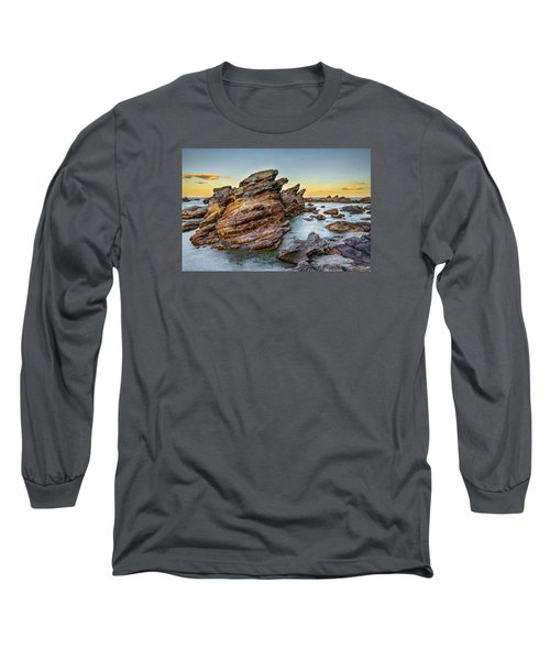 Rocks And Sea Long Sleeve T-Shirt