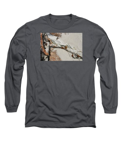 Rocks Longside Long Sleeve T-Shirt by Kathleen Grace