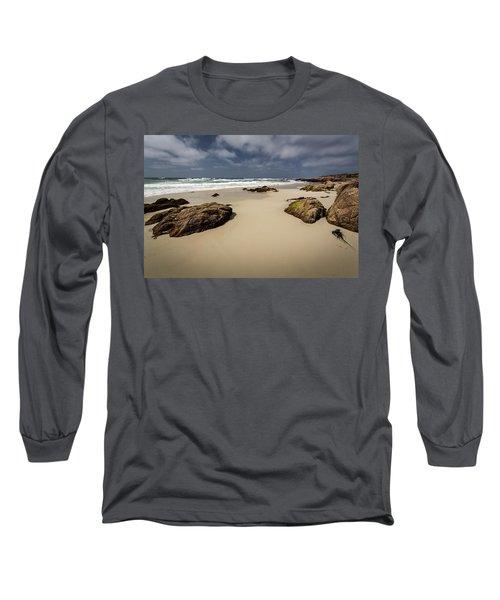 Rocks On The Shore Long Sleeve T-Shirt
