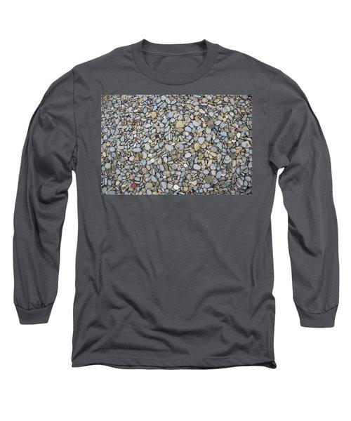 Rocky Beach 1 Long Sleeve T-Shirt by Nicola Nobile