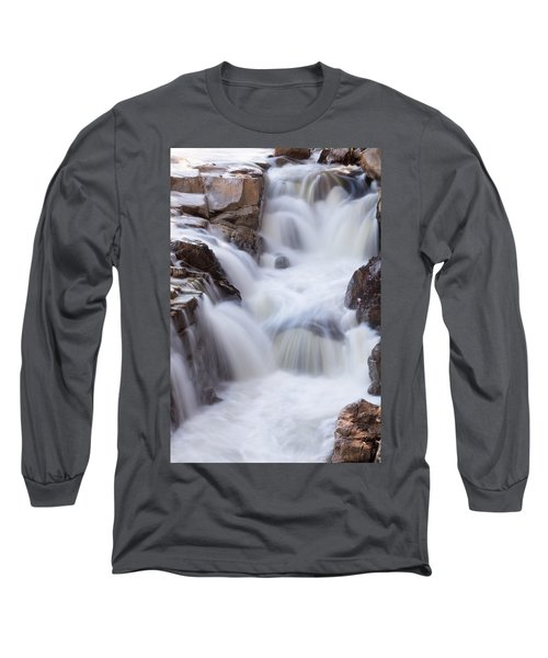 Rocky Gorge Falls Long Sleeve T-Shirt