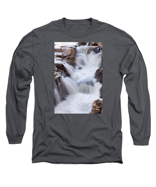 Rocky Gorge Falls Long Sleeve T-Shirt