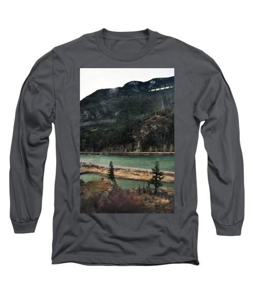 Rocky Mountain Foothills Montana Long Sleeve T-Shirt by Kyle Hanson