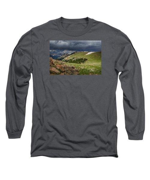 Rocky Mountain Strorm Long Sleeve T-Shirt