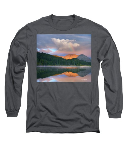 Rocky Mountain Long Sleeve T-Shirt by Tim Fitzharris