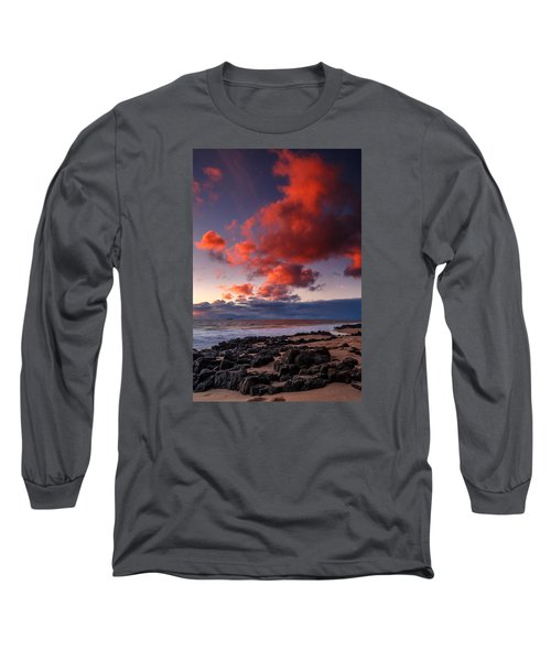 Rocky Sunset Long Sleeve T-Shirt
