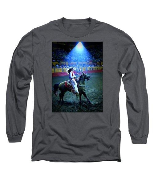 Rodeo Queen In The Spotlight Long Sleeve T-Shirt