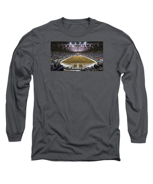 Rodeo Time In Texas Long Sleeve T-Shirt