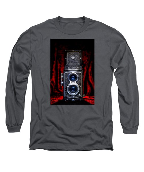 Rollei Long Sleeve T-Shirt by Keith Hawley