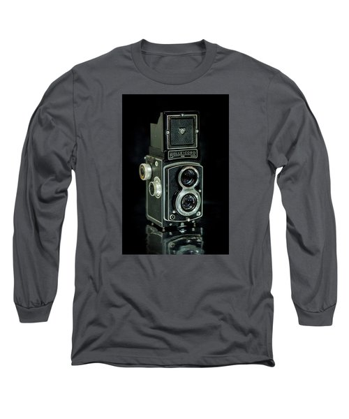 Long Sleeve T-Shirt featuring the photograph Rollei Twin Lense by Keith Hawley