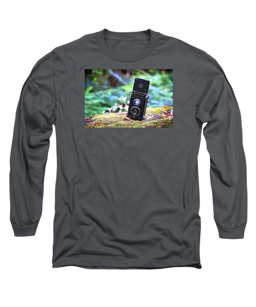 Long Sleeve T-Shirt featuring the photograph Rolleicord 2 by Keith Hawley