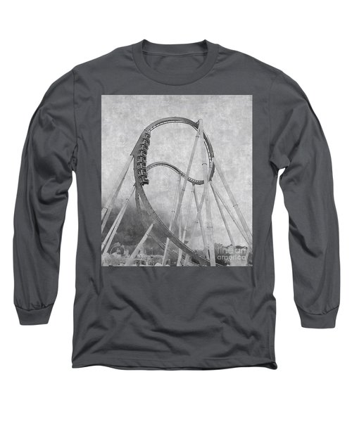 Hulk Roller Coaster Ride Long Sleeve T-Shirt