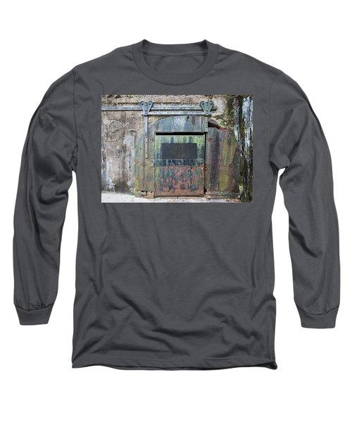 Rolling Door To The Bunker Long Sleeve T-Shirt