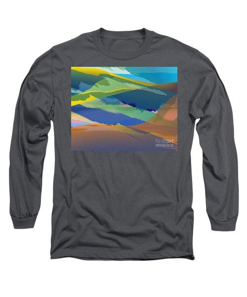 Rolling Hills Landscape Long Sleeve T-Shirt