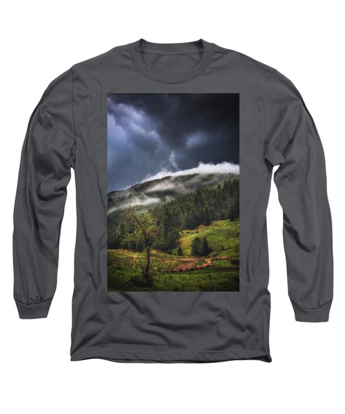 Rolling Through The Trees Long Sleeve T-Shirt