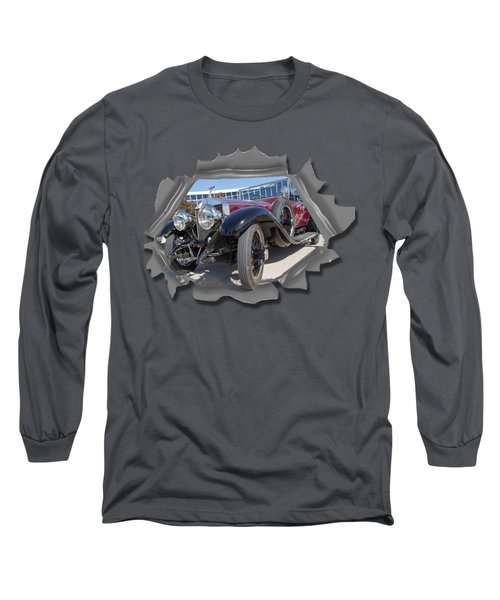Rolls Out  T Shirt Long Sleeve T-Shirt by Larry Bishop